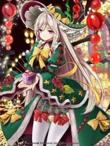 Rating: Safe Score: 32 Tags: christmas dress kaizin_rumble monster_girl primcoco thighhighs User: charunetra