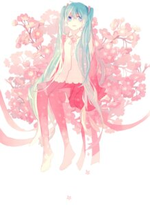 Rating: Safe Score: 19 Tags: hatsune_miku ky692 thighhighs vocaloid User: Radioactive