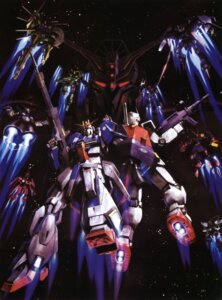Rating: Safe Score: 8 Tags: gundam mecha mobile_suit_gundam morishita_naochika rx-78-2_gundam zeta_gundam User: Radioactive