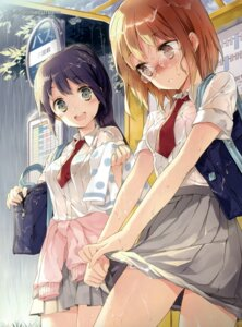 Rating: Questionable Score: 107 Tags: bra cuteg megane see_through seifuku wet wet_clothes User: Jigsy