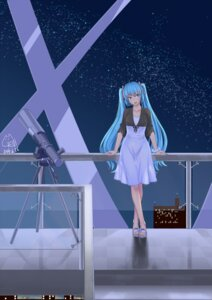 Rating: Safe Score: 27 Tags: dongqing_zaozigao dress hatsune_miku vocaloid User: Mr_GT