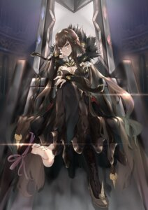 Rating: Safe Score: 30 Tags: cleavage dress fate/apocrypha fate/grand_order fate/stay_night feet heels pointy_ears qinshi-ji semiramis_(fate) valentine User: Mr_GT