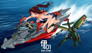 Rating: Safe Score: 25 Tags: anubis:_zone_of_the_enders blew_and_white feet i-401_(kancolle) kantai_collection mecha school_swimsuit seifuku swimsuits vic_viper User: Mr_GT