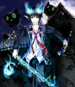 Rating: Safe Score: 10 Tags: ao_no_exorcist male okumura_rin o-zone sword User: hobbito