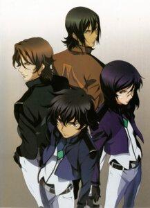 Rating: Safe Score: 6 Tags: allelujah_haptism chiba_michinori gundam gundam_00 lockon_stratos lyle_dylandy male screening setsuna_f_seiei tieria_erde User: harimahario