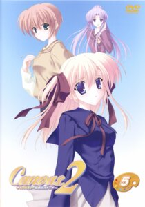 Rating: Safe Score: 6 Tags: canvas_2 disc_cover housen_elis kikyou_kiri nanao_naru saginomiya_saya screening User: admin2
