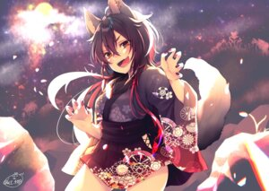 Rating: Safe Score: 29 Tags: animal_ears chita_(ketchup) japanese_clothes tail User: Mr_GT