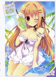 Rating: Questionable Score: 56 Tags: cleavage dress sakura_hanpen summer_dress User: drop