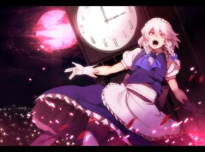 Rating: Safe Score: 7 Tags: izayoi_sakuya maid rby thighhighs touhou User: Mr_GT