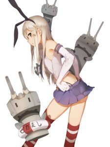 Rating: Safe Score: 57 Tags: huanxiang_heitu kantai_collection rensouhou-chan shimakaze_(kancolle) thighhighs thong User: nphuongsun93