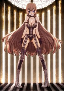 Rating: Questionable Score: 19 Tags: cleavage lingerie omizu stockings thighhighs User: Radioactive