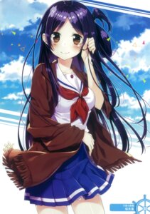 Rating: Safe Score: 61 Tags: high_school_fleet marikouji_kaede sakuragi_ren seifuku User: Radioactive