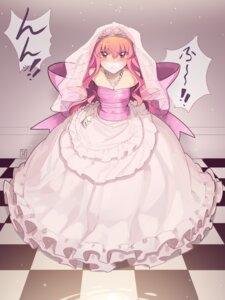 Rating: Questionable Score: 10 Tags: bondage dress kaddo louise no_bra wedding_dress zero_no_tsukaima User: Munchau