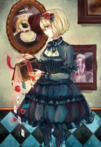 Rating: Safe Score: 27 Tags: aili_(aliceandoz) alice_margatroid dress kirisame_marisa lolita_fashion pantyhose patchouli_knowledge touhou witch User: Mr_GT