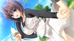 Rating: Safe Score: 48 Tags: asami_asami ashiya_suzuka dress game_cg hibiki_works pretty_x_cation_2 skirt_lift User: abdulaziz5