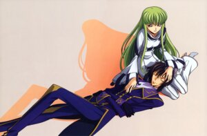 Rating: Safe Score: 22 Tags: c.c. code_geass lelouch_lamperouge sakamoto_shuuji User: Aurelia