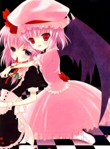 Rating: Safe Score: 7 Tags: chocolate_cube fixme izayoi_sakuya miwa_futaba remilia_scarlet stitchme touhou User: Radioactive