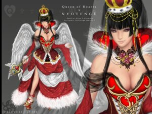 Rating: Questionable Score: 18 Tags: cleavage dead_or_alive dress no_bra nyotengu tagme weapon wings User: Yokaiou
