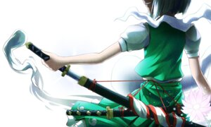 Rating: Safe Score: 30 Tags: konpaku_youmu puretails sword touhou User: Radioactive