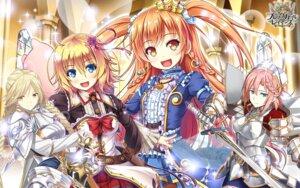 Rating: Safe Score: 13 Tags: akashio armor brave_girl_ravens ningen_(ningen96) sword taira_tsukune wallpaper User: zyll