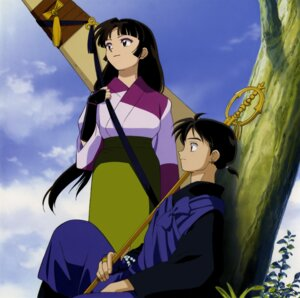 Rating: Safe Score: 8 Tags: inuyasha japanese_clothes miroku sango User: Radioactive