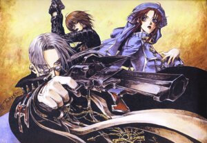 Rating: Safe Score: 2 Tags: abel_nightroad esther_blanchett thores_shibamoto trinity_blood User: Radioactive
