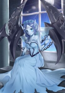 Rating: Safe Score: 24 Tags: cleavage dress league_of_legends morgana pointy_ears tl_astral7536 wings User: charunetra