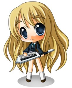 Rating: Safe Score: 5 Tags: chibi k-on! kotobuki_tsumugi seifuku shinjitsu User: Shamensyth