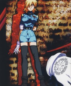 Rating: Safe Score: 6 Tags: hellsing seras_victoria thighhighs User: Radioactive