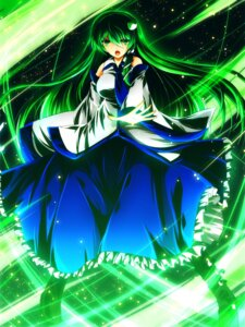 Rating: Safe Score: 11 Tags: dress kochiya_sanae nekominase touhou User: Injection