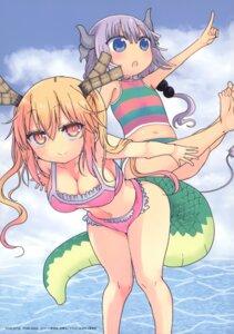 Rating: Safe Score: 23 Tags: bikini cleavage horns kanna_kamui kobayashi-san_chi_no_maid_dragon swimsuits tail tooru_(kobayashi-san_chi_no_maid_dragon) User: xiaowufeixia