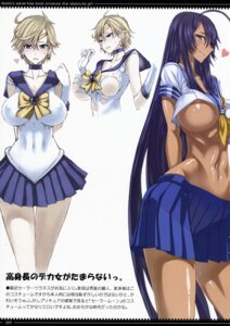 Rating: Questionable Score: 44 Tags: areola erect_nipples honjou_raita ikkitousen kanu_unchou no_bra sailor_moon seifuku tenou_haruka torn_clothes underboob zettai_shoujo User: Radioactive
