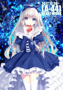 Rating: Safe Score: 57 Tags: dress heart-work suzuhira_hiro thighhighs User: moonian