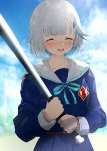 Rating: Safe Score: 10 Tags: baseball lize_helesta misaki_nonaka nijisanji seifuku User: Dreista