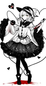 Rating: Safe Score: 23 Tags: blood heels komeiji_koishi sheya touhou weapon User: Mr_GT
