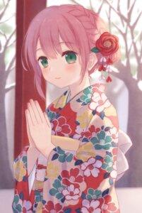 Rating: Safe Score: 18 Tags: kazane_mari kimono User: leotard
