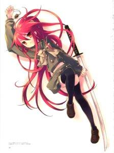 Rating: Safe Score: 22 Tags: ito_noizi seifuku shakugan_no_shana shana sword thighhighs User: admin2