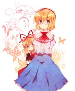 Rating: Safe Score: 10 Tags: alice_margatroid medicine_melancholy megane miyako_(artist) touhou User: Radioactive