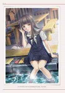 Rating: Safe Score: 9 Tags: mino_taro root_letter seifuku wet User: saemonnokami