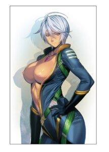 Rating: Questionable Score: 30 Tags: bodysuit breasts homare nipples no_bra open_shirt uchuu_senkan_yamato uchuu_senkan_yamato_2199 yamamoto_akira User: ferkunxd