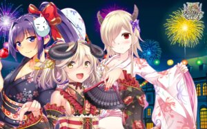 Rating: Safe Score: 16 Tags: brave_girl_ravens cleavage horns tagme wallpaper yukata User: zyll