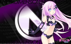 Rating: Safe Score: 88 Tags: bodysuit choujigen_game_neptune choujigen_game_neptune_mk2 cleavage compile_heart purple_sister tsunako wallpaper User: SubaruSumeragi