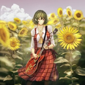 Rating: Safe Score: 12 Tags: cleavage guitar kazami_yuuka kikimifukuri touhou User: Mr_GT