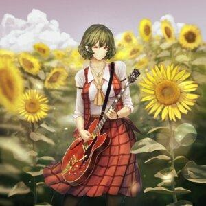 Rating: Safe Score: 12 Tags: cleavage guitar kazami_yuuka kikimifukuri touhou User: Mr_GT