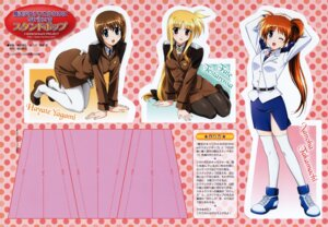 Rating: Safe Score: 5 Tags: fate_testarossa mahou_shoujo_lyrical_nanoha mahou_shoujo_lyrical_nanoha_strikers takamachi_nanoha yagami_hayate User: RozenKiss
