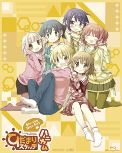 Rating: Safe Score: 12 Tags: aoki_ume dress feet hidamari_sketch hiro megane miyako nazuna nori pantyhose sae sweater yuno User: saemonnokami