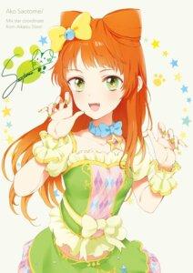 Rating: Safe Score: 20 Tags: aikatsu! aikatsu_stars! autographed dress nagahara saotome_ako User: nphuongsun93