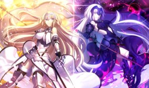 Rating: Safe Score: 133 Tags: armor fate/grand_order jeanne_d'arc jeanne_d'arc_(alter)_(fate) jeanne_d'arc_(fate) shinooji sword thighhighs weapon User: Mr_GT