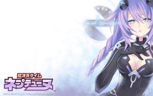 Rating: Safe Score: 64 Tags: bodysuit choujigen_game_neptune cleavage compile_heart purple_heart tsunako wallpaper User: Devard
