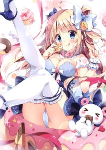 Rating: Questionable Score: 54 Tags: cleavage pan pan_no_mimi pantsu thighhighs User: kiyoe